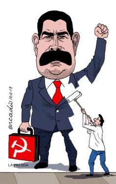 Há que apagarmos a ditadura de Maduro!  Esta ditadura é patrocinada pelo Rússia pró-soviética que o Temer está visitando.