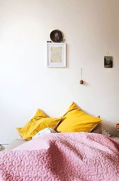 colorful bedding makeovers / sfgirlbybay