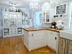 Junk Chic Cottage: Side Road Cabinet Re Loved ~yep, my next kitchen