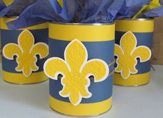 Ribbons & Glue: Cub Scouts Blue and Gold................