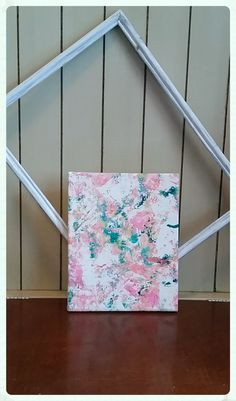 Splattered Beauty 8 by 10 inch Canvas - pinned by pin4etsy.com