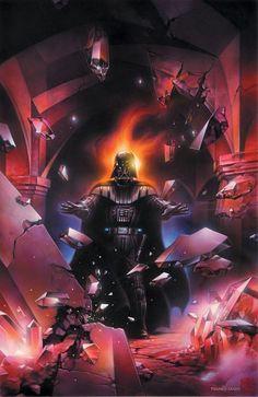 #Artwork #StarWars - Darth Vader by Tsuneo Sanda