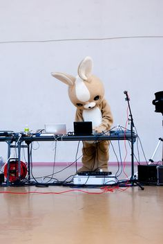 Makes me kinda want to be a furry or a deejay.