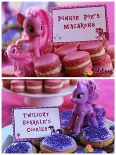 My Little Pony Tent Cards Food Labels by Stylingthemoment on Etsy, $8.50
