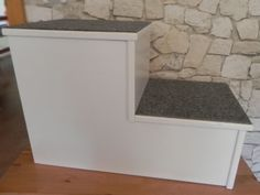 hundetreppe f r bett m belideen. Black Bedroom Furniture Sets. Home Design Ideas