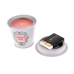 "LAFCO - Bougie ""Tin"" - colette  * Fig  * is the best.. Candle Jars, Candles, Colette, Forever, Fig, Good Things, Candy, Ficus, Candle Sticks"