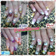 Tecnica devReversa  #nails  #instanails  #analuclouer  #uñasbellas  #nailsinstagram  #nail #blockai  #nailart