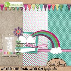 #Freebie Got It After the Rain add-on tiny kit from Meghan Mullens