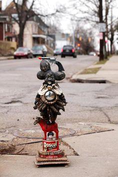 pistol unwhipped by vanessa german Sculpture Art, Sculptures, Contemporary African Art, Baby Jane, Art Story, Black Artists, Assemblage Art, Outsider Art, Altered Art