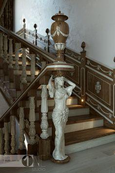 Заходной столб скульптура
