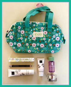 Lavender likes, loves, finds and dreams: Filled Beauty Bag Giveaway