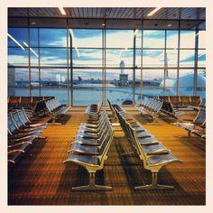 Empty Airport.