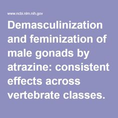 """Demasculinization & feminization of male gonads by atrazine: consistent effects across vertebrate classes. Thus the case for atrazine as an endocrine disruptor that demasculinizes & feminizes male vertebrates meets all nine of the """"Hill criteria"""". Transgender Hormones, Transgender Tips, Male To Female Transgender, Female Hormones, Feminized Husband, Feminized Boys, Male To Female Transformation, Endocrine Disruptors, Feminize Me"""