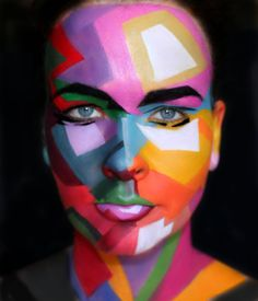 Fauvism makeup art by me