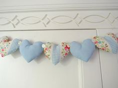 New Heart Garland by RubyRed06, via Flickr