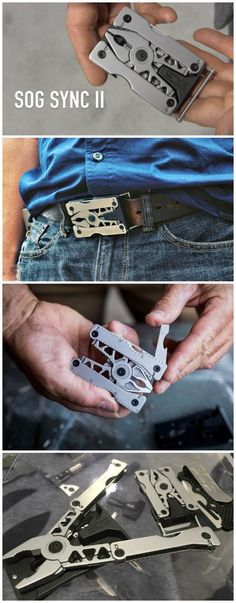Wearable Belt Buckle EDC Everyday Carry Multi Tool @thistookmymoney