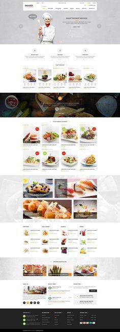 SAHARA - Food 2 - Ultimate Responsive Magento Themes
