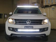 http//:www.blacksheep-innovations.com VW Amarok Black Sheep Innovations | LED BAR Stossstange Fotos
