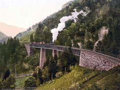 Viaduct and gorge, Hollenthal, Black Forest, Baden, Germany Harry potter? Holland, Black Forest Germany, Bahn, Ravenna, What A Wonderful World, Germany Travel, Wonders Of The World, Beautiful Places, Amazing Places