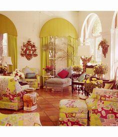 Palm Beach Lily Pulitzer living Room Vogue jan 1975 Horst P. Elegant Home Decor, Elegant Homes, Unique House Design, Vintage Interiors, Beautiful Living Rooms, Beach House Decor, Home Decor Styles, Decor Interior Design, Palm Beach