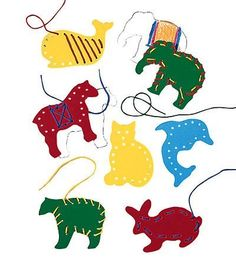 Versatile Lacing & Tracing Set with 7 Super Sturdy, Chunky Chipboard Animals by Lauri. $8.49. Set off on a learning safari with this herd of seven colorful, super sturdy, chunky chipboard animals. Kids can invent cool patterns to lace with the set's seven, plastic-tipped laces (and improve fine motor skills), or they can create colorful adventures on paper (and learn art skills) by tracing and coloring the animals. Made in the USA for ages 3 to 7. The first Lauri product was cr...