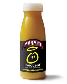Innocents new Marmite and Mango Smoothie is an amazing April Fools :)