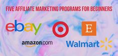 Affiliate Marketing Programs for beginners can be a bit stressful. Here is an overview of five Affiliate Marketing programs to help you start your journey! Affiliate Marketing, Marketing Program, Promotional Banners, Stress, Journey, Social Media, Tips, The Journey, Social Networks