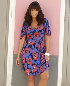 Poppy Print Tunic Dress - Really like this dress, but not sure about the sleeves...