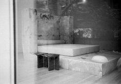 Rick Owens Interview: His Inspiration for Furniture Exhibition 'Pavane for a Dead Princess' My Home Design, House Design, Marble Bedding, Joseph Dirand, Vogue Living, Deco Furniture, Furniture Ideas, Bathroom Interior Design, Rick Owens