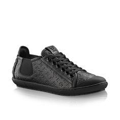 Toucan sneaker in calf via Louis Vuitton