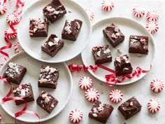 Get Ree Drummond's Quick and Easy Peppermint Fudge Recipe from Food Network