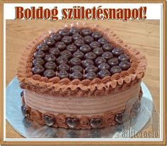 Cupcakes, Cupcake Cookies, Hungarian Desserts, Cake Factory, Valentines Day Food, Creative Cakes, Food Gifts, Cakes And More, Chocolate Recipes