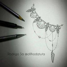 Resultado de imagem para mermaid tail tattoo