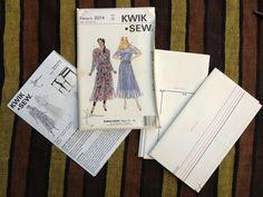 Kwik Sew 90's Master Pattern 2014 Misses' Boat Neckline Top & Skirt / All Sizes
