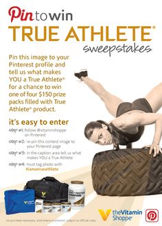#CONTEST: Pin this image to your profile and tell us what makes you a True Athlete for a chance to win a True Athlete prize pack.