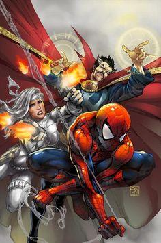 - avenging spiderman by strayedclimaca  - Digital Art by Ivanna Matilla