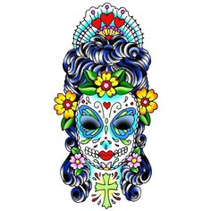 Pouring my hART out: Sugar Skulls and other delights!