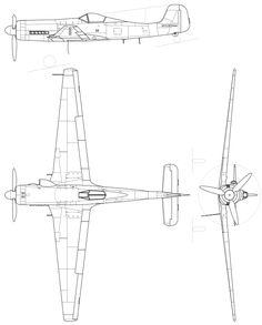 Focke-Wulf Ta 152 H - Focke-Wulf Ta 152 - Wikipedia, la enciclopedia libre Airplane Sketch, Airplane Drawing, Ta 152, Focke Wulf 190, Commercial Plane, Floor Plan Drawing, Ww2 Planes, Futuristic Cars, Aircraft Design