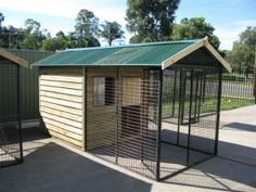 Cat Enclosures - Cat Enclosure with Timber House Roof - Cat Pens - Covered Cat Enclosures - Cat Houses - Cat Enclosures in Prefabricated Kits - We are the Pet Enclosure Specialists