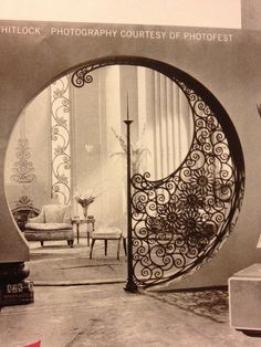Love the wrought iron.---agreed, pretty amazing