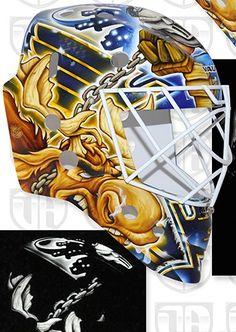 Elliott DaveArt Moose Mask 2015-16 right