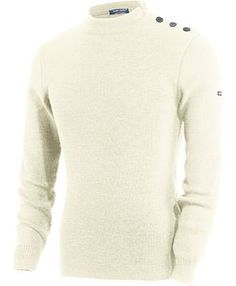 Vrai pull marin breton côte 1x1 Pure Laine | BOUTIQUE SAINT JAMES