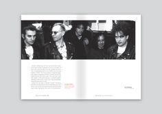 the cure, urojone lata editorial design