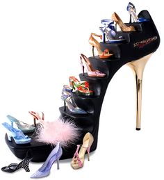 Just the Right Shoe™ by Raine    The exquisite detail in the artist Raine's miniature high fashion shoe collection has been helping women indulge their shoe fantasies for the past decade. Packaged in miniature shoe boxes they make the perfect gift for the women in your life, after you've already gotten the latest styles for your own collection.  http://www.angelicdreamz.com/JUST-THE-RIGHT-SHOE_c_1238.html