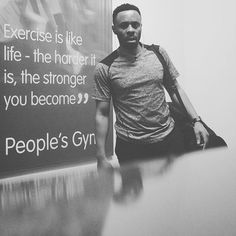 Real Men don't Cry - Real Men Sweat. Another day of positivities. #myhealthmyresponsibility #exercise #fitness