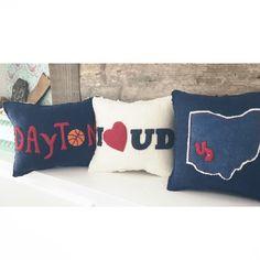University of Dayton, Ohio, pillows