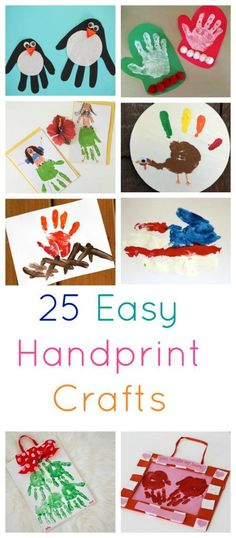 25 Easy Handprint Crafts for Kids - The Chirping Moms