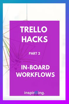 Continuing our journey on Trello hacks! With these in-board workflows you can get things done that you cannot with Trello's default features. Business Tips, Online Business, Chrome Extensions, Chrome Web, Productivity Hacks, What Is Your Name, Business Organization, Best Blogs
