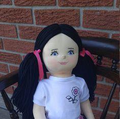Custom Ragdoll Handmade Soft Sculpture Doll One of a Kind Keepsake Baby Gifts, Rag Dolls, Collector Dolls, Soft Sculpture, Eye Color, Kids Toys, Art Pieces, Crafts, Handmade