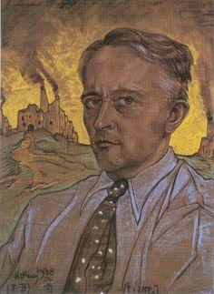Stanisław Ignacy Witkiewicz – Autoportret (z 1938 r.)